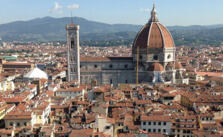 Skyline of the city of Florence