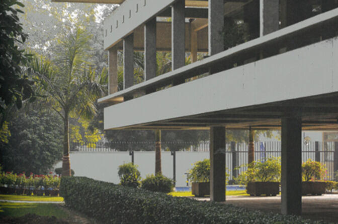 Swiss Embassy in New Delhi