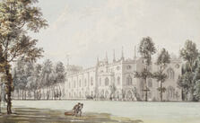 Painting of Strawberry Hill