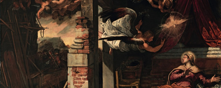 Painting by the artist Tintoretto